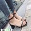 รองเท้าส้นสูงรัดส้น เปลือยเท้า G-1382-BLK [สีดำ]