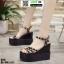 รองเท้าทรงเตารีดแบบรัดข้อ ST10-BLK [สีดำ]