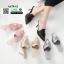 รองเท้าส้นสูงเปิดส้น สไตล์แบรนด์ ZARA A678-62-BLACK [สีดำ] thumbnail 3