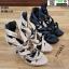 รองเท้าส้นสูงหุ้มข้อ วัสดุผ้านุ่ม 17-2317-CRM [สีครีม] thumbnail 5