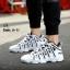 รองเท้าผ้าใบ PU ทรง SPORT-Black A-11 [สีดำ] thumbnail 2