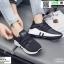 รองเท้าผ้าใบแบบสวม L09-BLK [สีดำ] thumbnail 1