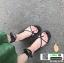 รองเท้าแตะ พันข้อเท้า G-1420-BLK [สีดำ] thumbnail 2