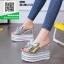 รองเท้าแบบสวมส้นเตารีด ST05-SIL [สีเงิน] thumbnail 1