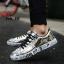 รองเท้าผ้าใบ Flashion หนัง PU-silver 558 [สีเงิน] thumbnail 1