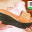 รองเท้าส้นเตารีดสีน้ำตาล สไตล์ลำลอง (สีน้ำตาล ) thumbnail 2