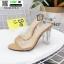 รองเท้าส้นสูง งานสไตล์ TOP SHOP 816-3-KAKI [สีกากี] thumbnail 3