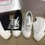 รองเท้าผ้าใบเสริมส้นสีขาว สไตล์เกาหลี (สีขาว ) thumbnail 4