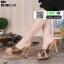 รองเท้าส้นสูงแบบสวม 099-BLK [สีดำ]