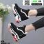 รองเท้าผ้าใบเสริมส้น ST26-BLK [สีดำ] thumbnail 4