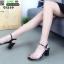 รองเท้าลำลองแบบสวม ทรง maxi G1289-BLK [สีดำ] thumbnail 3