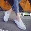 รองเท้าผ้าใบแบบเปิดส้น ST1-WHI [สีขาว] thumbnail 1