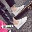 รองเท้าผ้าใบแฟชั่น ทรงสวย E17-WHITE [สีขาว] thumbnail 2