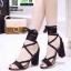 รองเท้าหุ้มท้ายส้นแท่ง ST8835-BLK [สีดำ] thumbnail 1