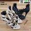 รองเท้าส้นสูงหุ้มข้อ วัสดุผ้านุ่ม 17-2317-BLK [สีดำ] thumbnail 4