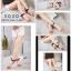 รองเท้าแตะสายคาดไขว้ หนังสักราจ G-1264-GRY [สีเทา] thumbnail 3