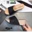 รองเท้าส้นเตารีด หน้าสวม กากเพชร 1902-BLK [สีดำ] thumbnail 5