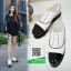 รองเท้าคัทชูส้นสูงสีขาว สวยเก๋หวานๆ (สีขาว ) thumbnail 1
