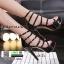รองเท้าส้นสูง สไตล์เกาหลี 17-1283-BLACK [สีดำ ] thumbnail 1