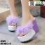 รองเท้าหูคีบส้นเตารีด ST821-PUE [สีม่วง] thumbnail 2