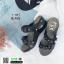 รองเท้าเพื่อสุขภาพ สายคาดมีดอกไม้ L1442-BLK [สีดำ] thumbnail 4
