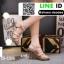 รองเท้าส้นสูงสไตล์YSL 18-1326-PNK [สีชมพู] thumbnail 2