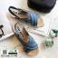 รองเท้าแตะงานเกาหลี งานดีมาก แตะปอ G-1345-LBLU [สีฟ้า] thumbnail 1