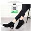 รองเท้าบูท สักหราดสั้น G20-BLK [สีดำ] thumbnail 1