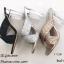 รองเท้าส้นสูง หน้าไขว้ กากเพรช 17-2291-ดำ [สีดำ] thumbnail 4