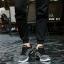 รองเท้าผ้าใบ ทรง SPORT-Black Black [สีดำ] thumbnail 2