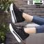 รองเท้าผ้าใบเสริมส้น งานนำเข้า100% ST315-BLK [สีดำ] thumbnail 2