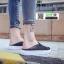 รองเท้าผ้าใบแบบเปิดส้น ST1-BLK [สีดำ] thumbnail 3