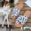 รองเท้าแตะผู้หญิง ลายจุด มัดโบว์ G-1424-WHI(POINT) [สีขาว] thumbnail 3