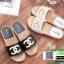 รองเท้าแตะ Chanel แต่งมุก G-1371-BLK [สีดำ] thumbnail 3