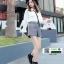 รองเท้าบูทมาร์ตินนำเข้า สไตล์เกาหลี CNC-539-BLK [สีดำ] thumbnail 2
