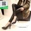 รองเท้าคัชชูส้นสูงสีเงิน ทรง casual ดีไซน์หรูหรา (สีเงิน ) thumbnail 2