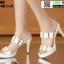 รองเท้าส้นสูง งานนำเข้า 100% ST003-WHI [สีขาว] thumbnail 3