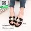 รองเท้าแตะฟั่นสีดำ Style Hermes (สีดำ ) thumbnail 2