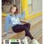 รองเท้าผ้าใบ sneaker SG-171-WHT [สีขาว] thumbnail 5