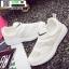 รองเท้าผ้าใบแฟชั่น ทรงสวย E17-WHITE [สีขาว] thumbnail 3