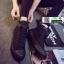รองเท้าผ้าใบหุ้มข้อนำเข้า สไตล์เกาหลี YZB-059-BLK [สีดำ] thumbnail 2