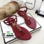 รองเท้าแตะวัสดุหนังนิ่มแบบคีบ Style Chanel 5534-แดง [สีแดง] thumbnail 1