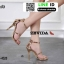 รองเท้าส้นสูงรัดข้อเปิดหน้า 18-4528-PKG [สีชมพู] thumbnail 3