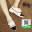 รองเท้าคัทชูส้นสูงสีขาว สวยเก๋หวานๆ (สีขาว ) thumbnail 3