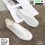 รองเท้าผ้าใบลายฉลุ แบบเชือก T70-WHI [สีขาว] thumbnail 5