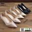 รองเท้าคัชชูส้นสูง TM2384-BLK [สีดำ] thumbnail 2