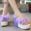 รองเท้าหูคีบส้นเตารีด ST821-PUE [สีม่วง] thumbnail 1