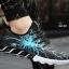 รองเท้าผ้าใบ หนัง PU ลายสุดแนว-blue 919 [สีน้ำเงิน] thumbnail 3