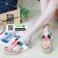 รองเท้าสายสุขภาพแต่งดอกไม้สวยงาม L2027-WHT [สีขาว] thumbnail 5