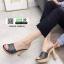 รองเท้าส้นสูง สไตล์แบรรนด์ TOP SHOP 3006-8-BLACK [สีดำ ] thumbnail 1